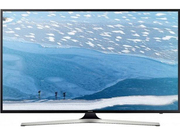 TV image - front view