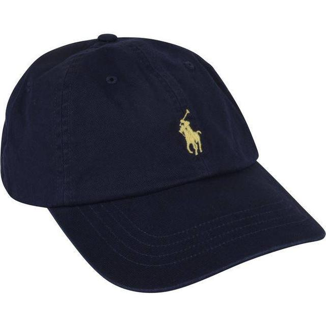 Polo Ralph Lauren Cotton Chino Baseball Cap - Relay Blue/Wicket Yellow