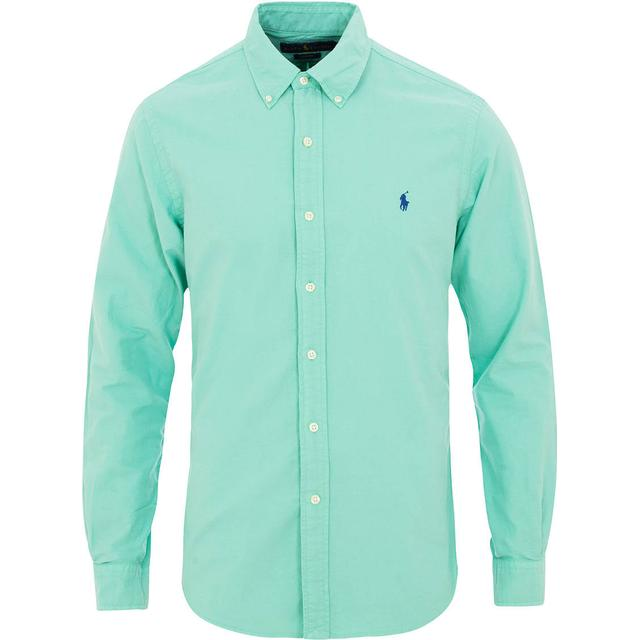 Polo Ralph Lauren Garment-Dyed Oxford Shirt - Sunset Green